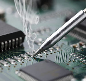 widget solder fume extraction electronics manufacturing